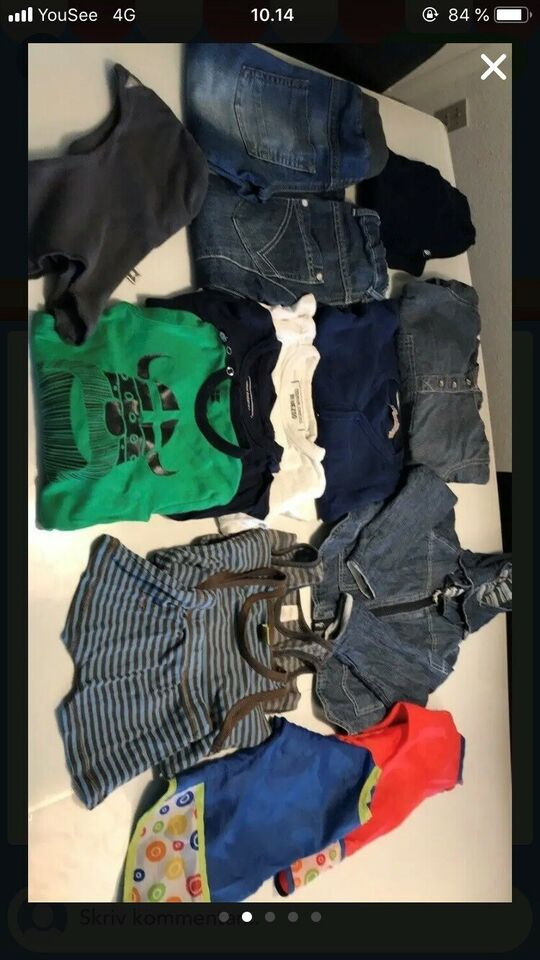 Blandet tøj, For, Danefæ/minymo/joha og andet