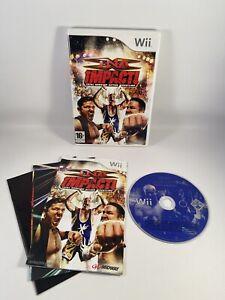 TNA Impact Nintendo Wii 16+ Fighting Wrestling Game Free Postage