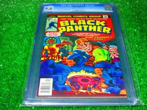 CGC-Comic-graded-9-6-black-panther-1-1st-app-Key-issue-1977
