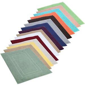 Feather-amp-Stitch-Bath-Mat-Cotton-Washable-Contour-Rug-21x34-Inch-Tub-Mat-2-Pack