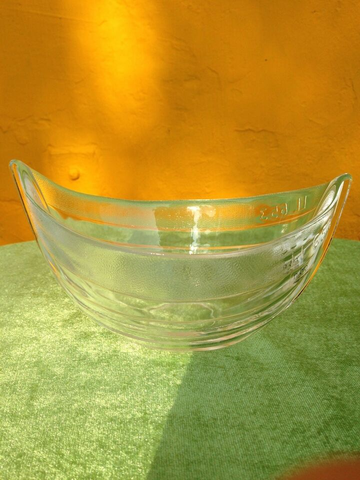 "Nybro krystal ""Seafood bowle"", Nybro/Design by Poul"