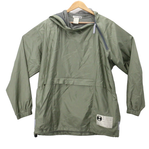 Final Home Rain Green Jacket Sz Large