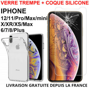 Custodia Cover IPHONE 12 11 Professionista XR XS Max 8 7 6S 5 + Protettiva Vetro
