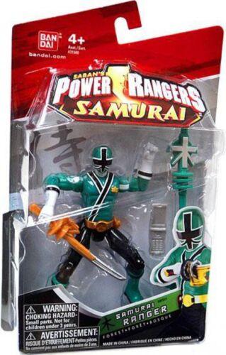 Power Rangers Samurai Ranger Forest Action Figure