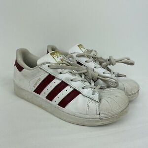 Details about Girl's/Kid's Adidas Superstar Low Top Sneakers Shoes Size 2 No Box