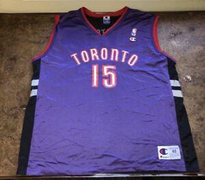 8f93e34d1 Vince Carter Jersey Toronto Raptors Vtg 90s Champion Basketball NBA ...