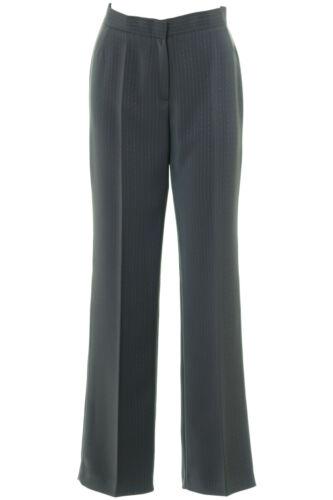 Occupato Pantaloni da donna gessato grigio