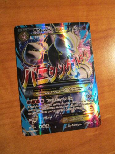 NM Completo Arte Pokemon Mega M Mewtwo Ex Scheda Breakthrough Set 159//162 XY