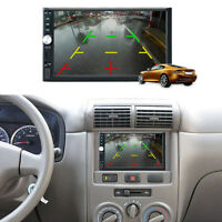 Bluetooth Touch Screen 2 DIN Car Stereo DVD MP5 Player USB Aux MP3 TV Radio