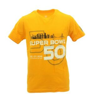 Super Bowl 50 Kids Youth Size NFL Team Apparel Official T-Shirt New ... 42c784f85