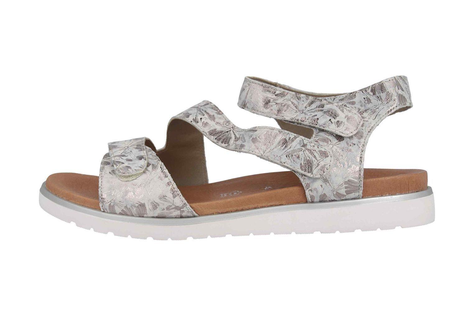 Remonte  Sandalen in Übergrößen Silber D4057-42 große Damenschuhe