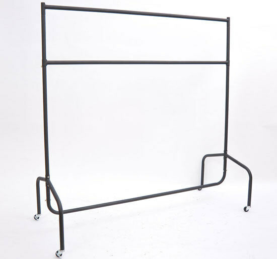 HOMCOM Heavy Duty Rail 4FT 5FT 6FT Clothes Garment Dress Hanging Stand Rack