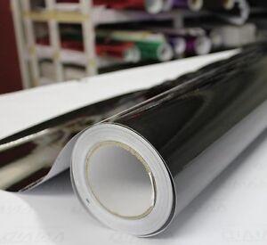 Noir-Brillant-Vinyle-Wrap-Voiture-air-bulle-gratuit-toutes-tailles