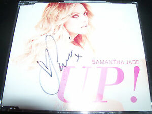 Samantha-Jade-Up-Australian-Autographed-Signed-CD-Single