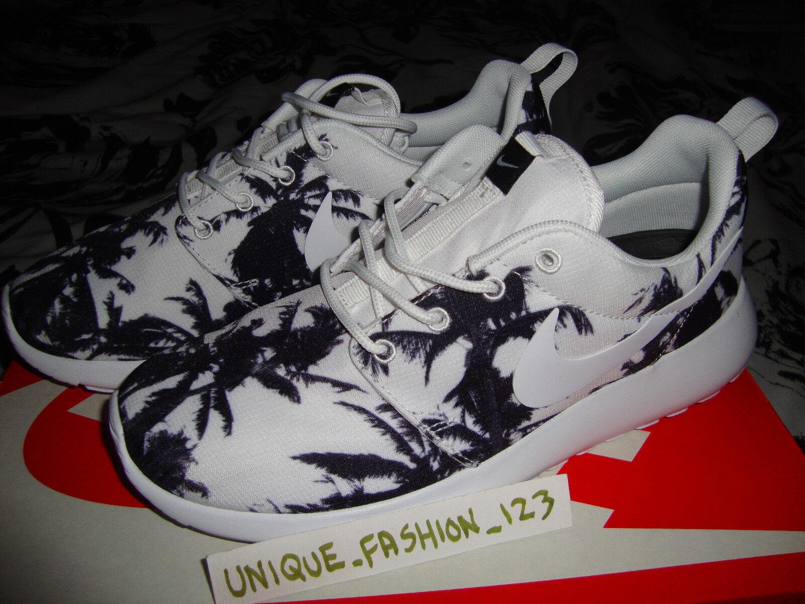 Wmns Nike Rosherun Roshe Palmera EE. UU. 8 Reino Unido 5.5 39 Santa Monica árboles Qs