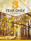 3 Year Daily Journal by Speedy Publishing LLC (Paperback / softback, 2015)