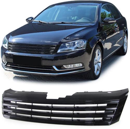 SPORT griglia anteriore Grill senza emblema nero per VW Passat b7 tipo 36 dal 10
