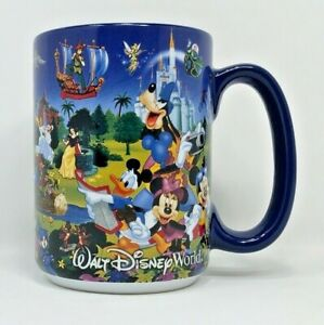 Disney-Parks-Mickey-Minnie-Goofy-Donald-Duck-Pluto-amp-Other-Characters-Coffee-Mug