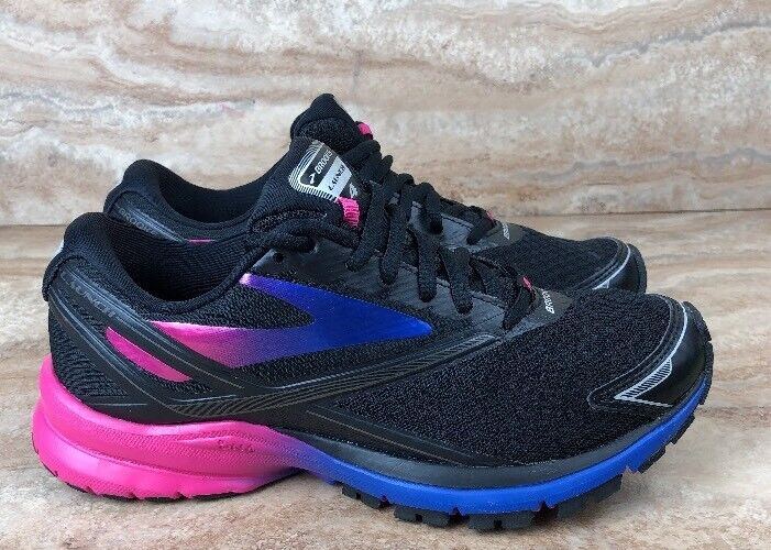 Brooks Launch 4 Women's Black Purple bluee Running shoes Sneakers