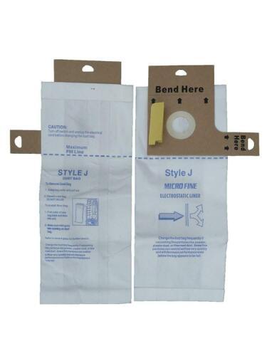 9 Style J #61515 Eureka #RG3100 Regina Upright Allergy Vacuum Bags Athena Boss