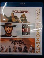 Butch Cassidy & Sundance Kid/Good,Bad,Ugly/Magnificent Seven (3-Blu-ray set)