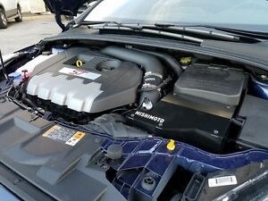 Focus St Cold Air Intake >> Details About Mishimoto Cold Air Intake W Box 2013 2017 Focus St Wrinkle Black Carb Legal
