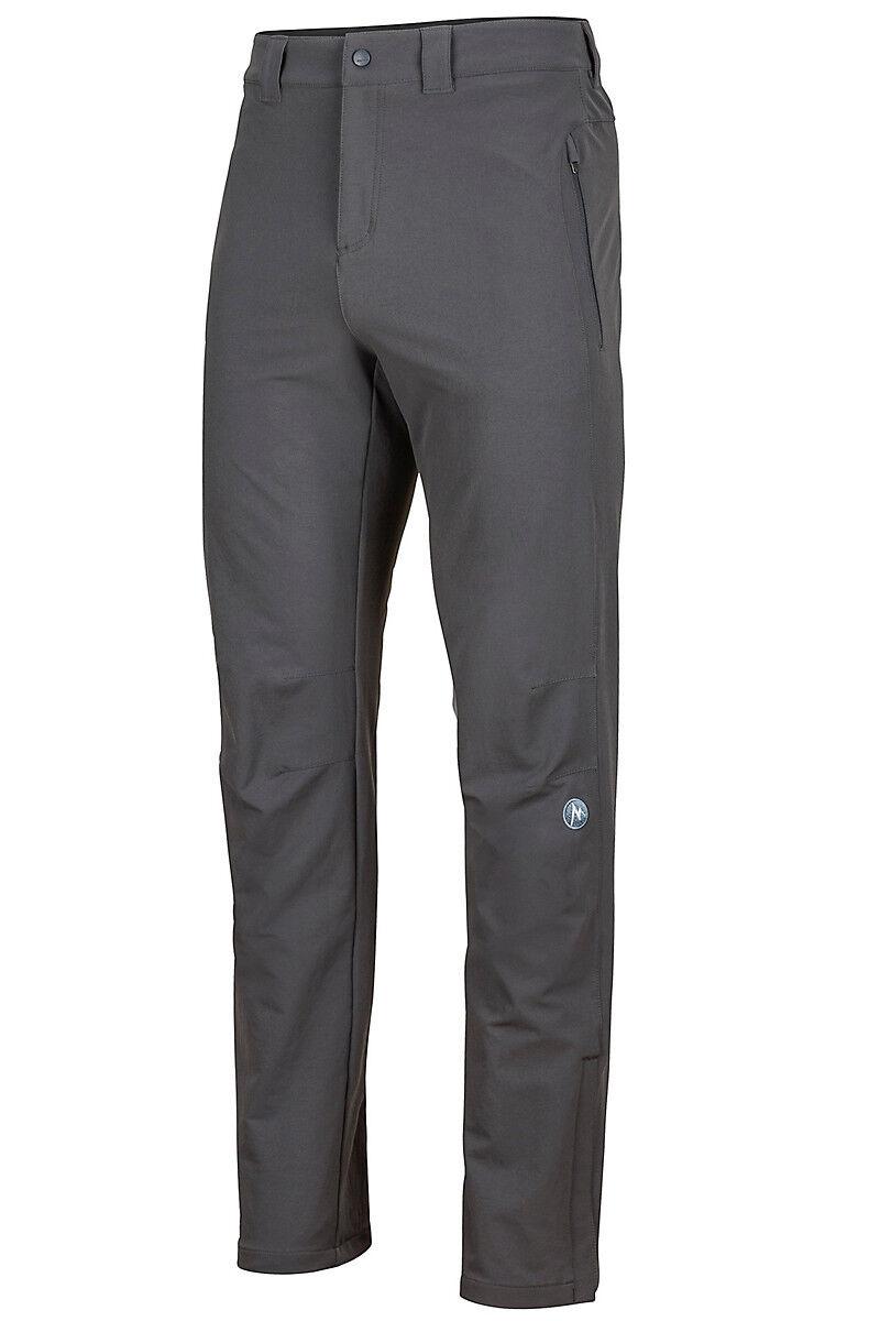 Marmot Softshell Pantalón para hombre Cantizal-gris Pizarra