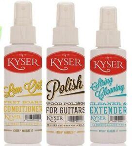 Kyser Care Kit-polonais, String Cleaner & Lemon Huile-ing Cleaner & Lemon Oil Fr-fr Afficher Le Titre D'origine Artisanat Exquis;