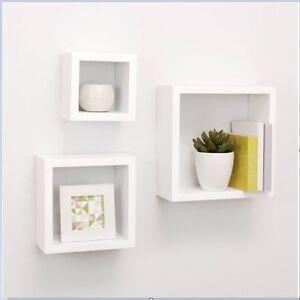 Image Is Loading Home Wall Shelves Cube Small Floating Shelf Box