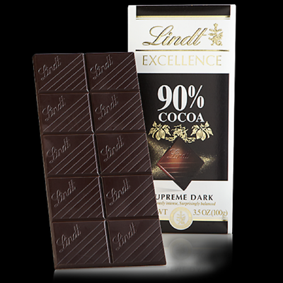 Lindt Excellence Bar 90 Cocoa Supreme Dark 3 5 Oz 8 99