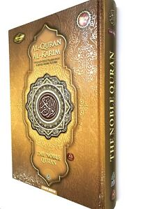 Details about NOBLE Gold Quran Word for Word Arabic to English Translation  Colour Tajweed A5
