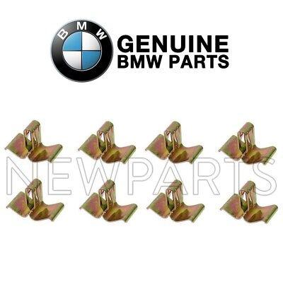 For BMW BAV E12 E23 E24 E28 E30 Retaining Clip for Bumper Impact Strip GENUINE