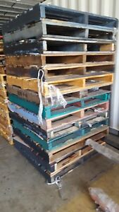 Details about Timber pallets used Skids Chep preowned pallet pine pallets  1165 x 1165 plastic