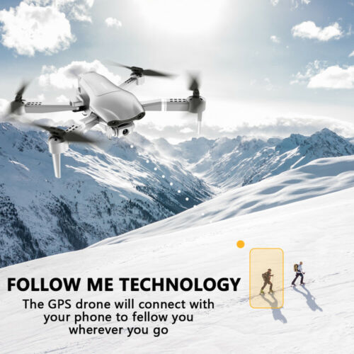Drone Foldable Quadcopter GPS 5G WIFI FPV 4K Wide-Angle HD Camera HD Aircraft NE
