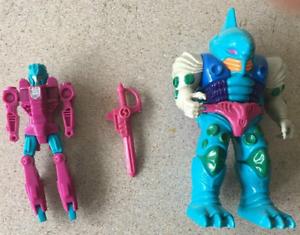 Submarauder G1 Transformers Pretender shell robot and sword