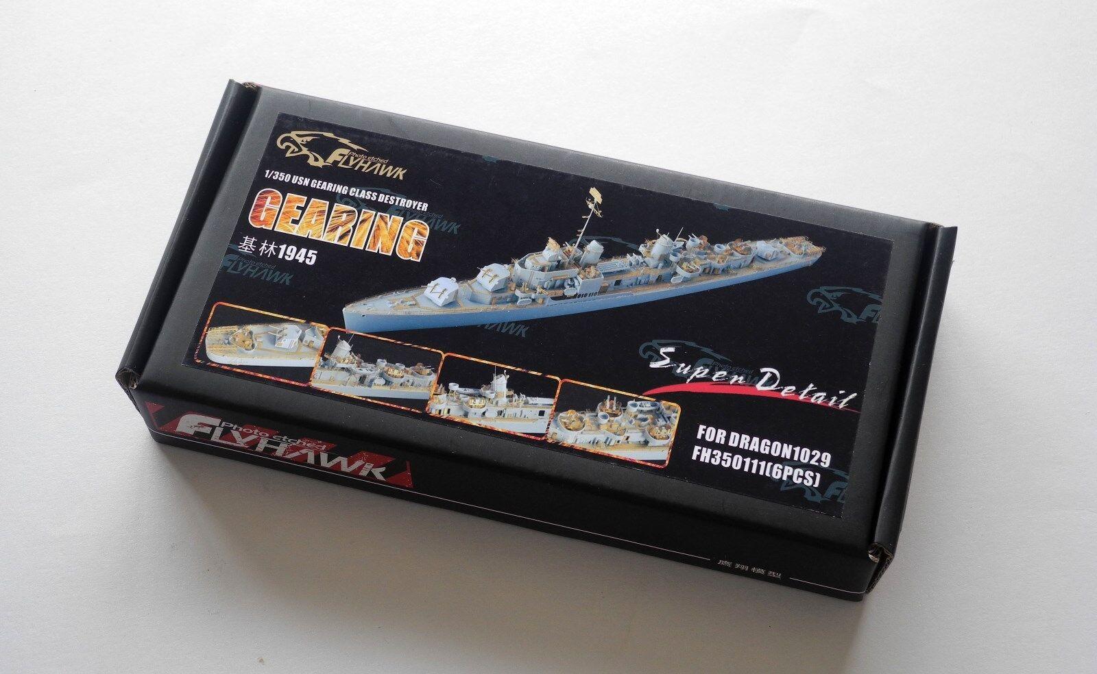 Flyhawk 1 350 350111 USS Gearing Destroyer for Dragon