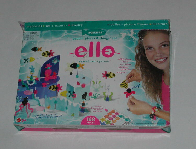 ELLO Creation System AQUARIA Lot of parts and pieces