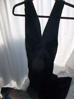 Banana Republic Women's Size 14 Black Pinafore Jumper Skirt