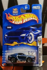Hotwheels 1968 Mustang First edition  Mint carded 2002