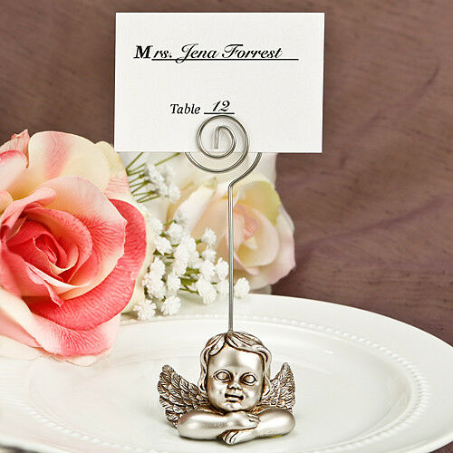 Xmas Party Guardian Angel Table Place Card Photo Holder Ideal Wedding Dinner