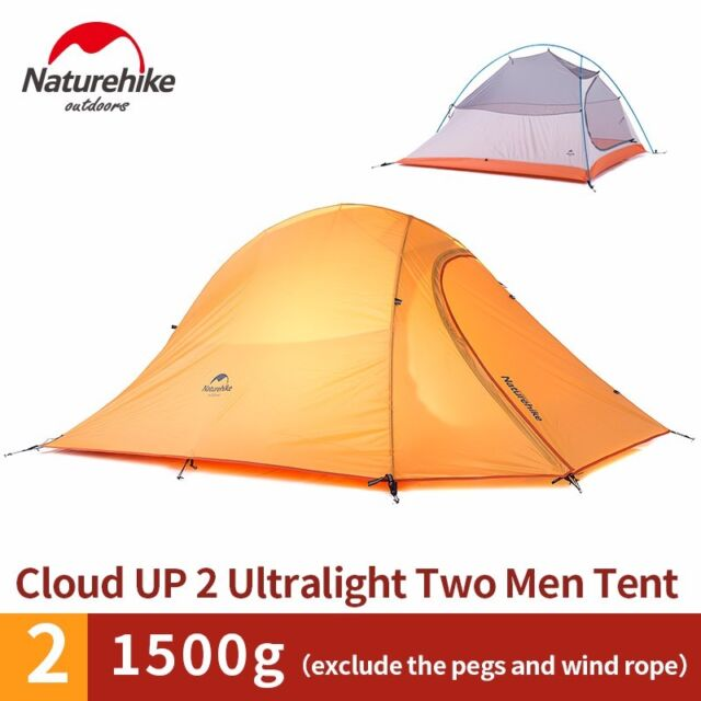 Naturehike 2 Person Outdoor Ultralight Camping Double Layer Waterproof Tent
