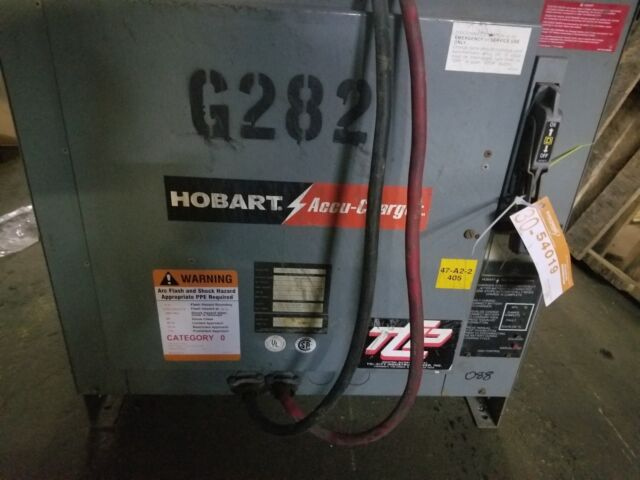 Hobart Accu-Charger, 36 volt  750 Amp Hours, 208/240/480 Volts, 3 Phase 60  Hz