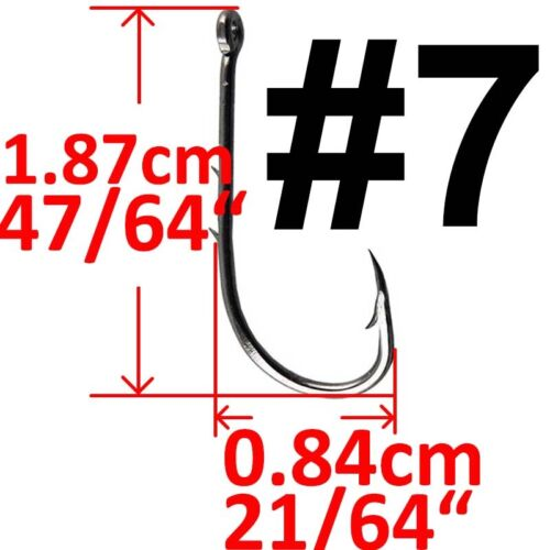 Lot 50x or 20x Baitholder Hook Jig Fishing Hooks High Carbon Steel Fishhook