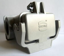 Harting 09300060297 Heavy Duty Connector Surface Mount HSG HAN 6B 2 SIDE ENTRY