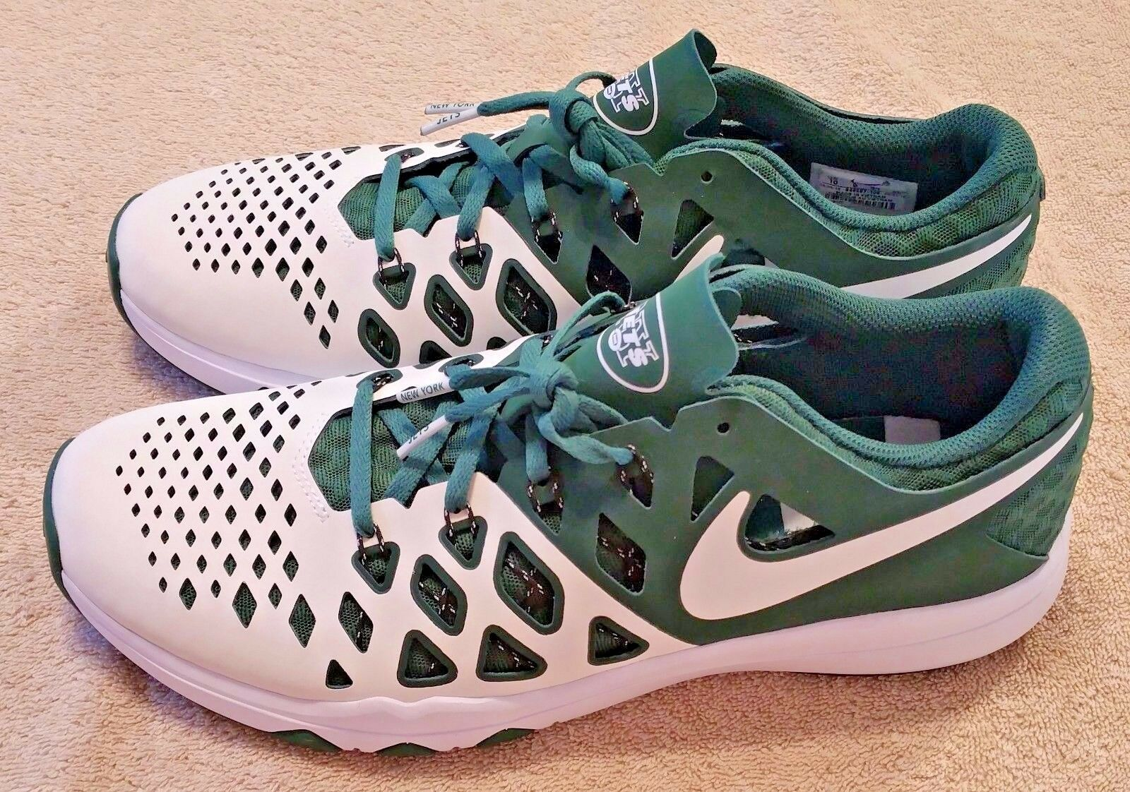 The most popular shoes for men and women NIKE Train Speed Shoes Mens 4 AMP NFL New York Jets 3M choose size 10, 11.5, 12