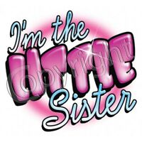 I'm The Little Sister, Middle Sister, Or Big Sister T-shirt -all Sizes For Kids