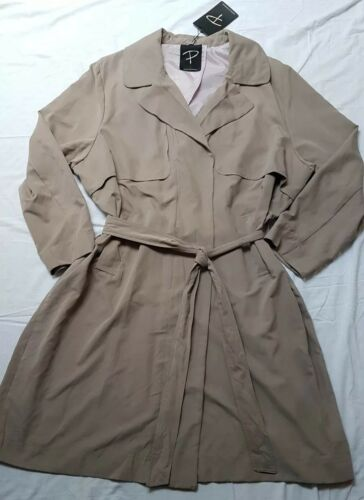 26 Bnwt Coat Soft £ Beige Touch Rrp Ladies Danese Uk 165 52 Trench Capispalla qgT6gzUw