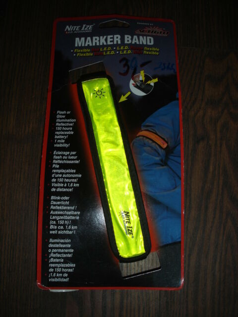 Nite Ize LED Marker Band flexible Rote L.E.D. Armband