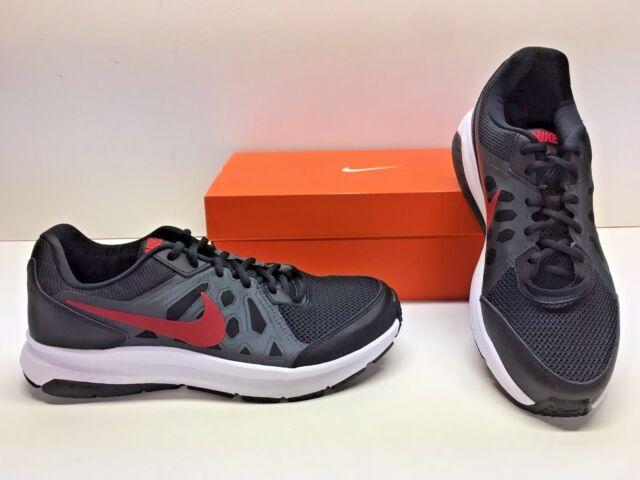 cc2cfc47b07a Nike Dart 11 XI Running Cross Training Black Red Dark Gray Sneakers Shoes  Mens 9