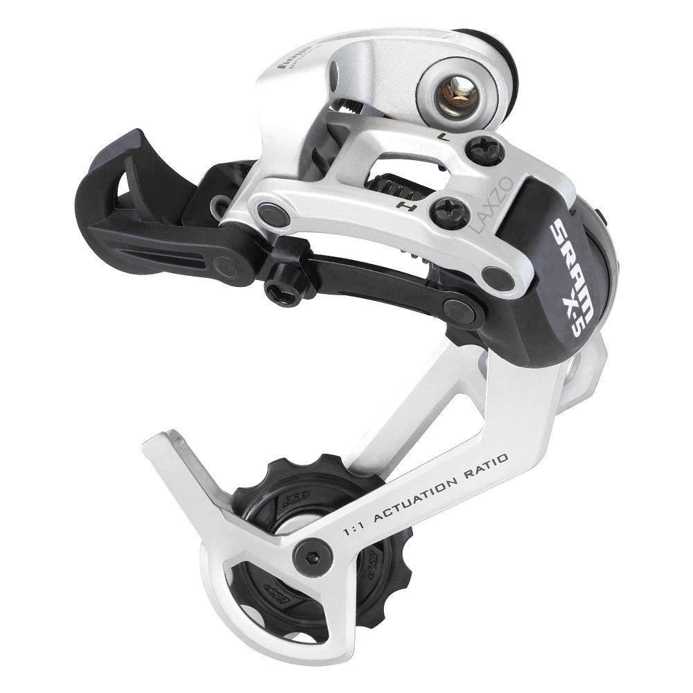 Sram X5 9 MTB Mountainbike Schaltwerk Schaltwerk Silber 9 Speed Med Cage